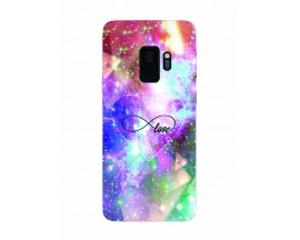 Husa Silicon Soft Upzz Print Samsung Galaxy S9 Model Neon Love