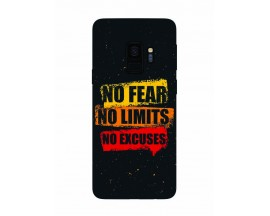 Husa Silicon Soft Upzz Print Samsung Galaxy S9 Model No Fear