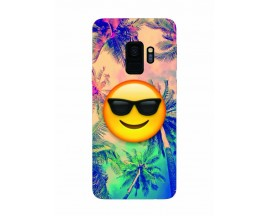 Husa Silicon Soft Upzz Print Samsung Galaxy S9 Model Smille