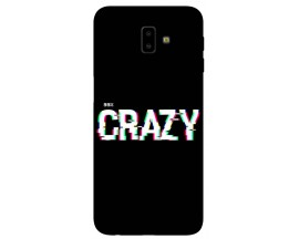 Husa Silicon Soft Upzz Print Samsung J6+ Plus 2018 Model Crazy