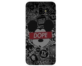 Husa Silicon Soft Upzz Print Samsung J6+ Plus 2018 Model Dope