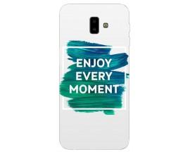 Husa Silicon Soft Upzz Print Samsung J6+ Plus 2018 Model Enjoy