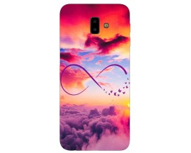 Husa Silicon Soft Upzz Print Samsung J6+ Plus 2018 Model Infinity