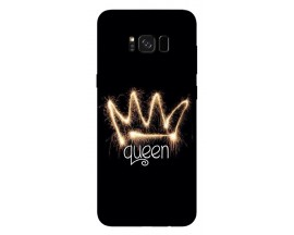 Husa Silicon Soft Upzz Print Samsung S8+ Plus Queen