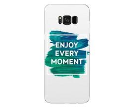 Husa Silicon Soft Upzz Print Samsung Galaxy S8 Model Enjoy