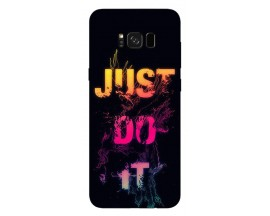 Husa Silicon Soft Upzz Print Samsung Galaxy S8 Model Infinity