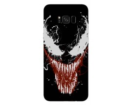 Husa Silicon Soft Upzz Print Samsung Galaxy S8 Model Monster