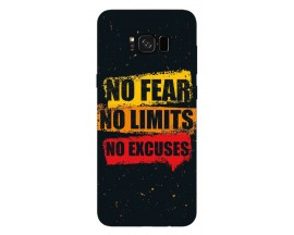 Husa Silicon Soft Upzz Print Samsung Galaxy S8 Model No Fear