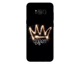 Husa Silicon Soft Upzz Print Samsung Galaxy S8 Model Queen