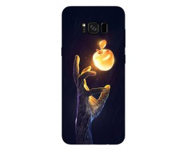 Husa Silicon Soft Upzz Print Samsung Galaxy S8 Model Reach