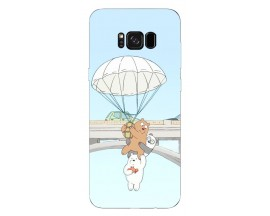 Husa Silicon Soft Upzz Print Samsung Galaxy S8 Model Three Bears