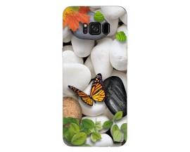 Husa Silicon Soft Upzz Print Samsung Galaxy S8 Model Zen