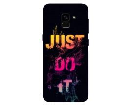 Husa Silicon Soft Upzz Print Samsung Galaxy A8 2018 Model Jdi