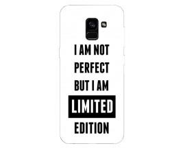 Husa Silicon Soft Upzz Print Samsung Galaxy A8 2018 Model Limited Edition