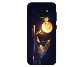 Husa Silicon Soft Upzz Print Samsung Galaxy A8 2018 Model Reach