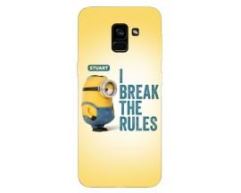 Husa Silicon Soft Upzz Print Samsung Galaxy A8 2018 Model Stuard