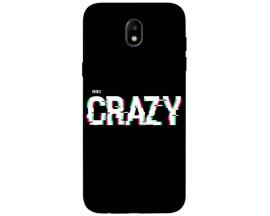 Husa Silicon Soft Upzz Print Samsung Galaxy J3 2017 Model Crazy