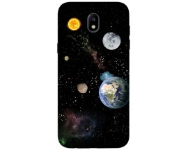 Husa Silicon Soft Upzz Print Samsung Galaxy J3 2017 Model Earth