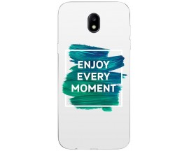 Husa Silicon Soft Upzz Print Samsung Galaxy J3 2017 Model Enjoy