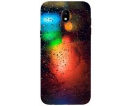 Husa Silicon Soft Upzz Print Samsung Galaxy J3 2017 Model Multicolor