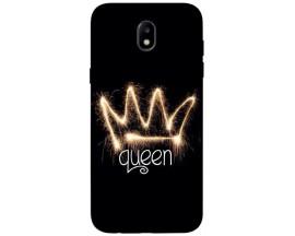 Husa Silicon Soft Upzz Print Samsung Galaxy J3 2017 Model Queen