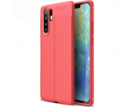 Husa Upzz Case Auto Focus Soft Huawei P30 Pro Red ,silicon