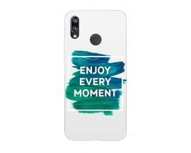 Husa Silicon Soft Upzz Print Huawei P20 Lite Model Enjoy