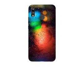 Husa Silicon Soft Upzz Print Huawei P20 Lite Model Multicolor