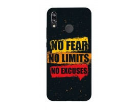 Husa Silicon Soft Upzz Print Huawei P20 Lite Model No Fear