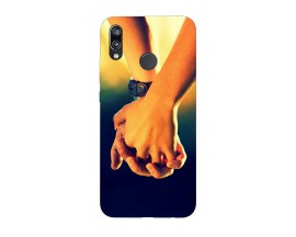 Husa Silicon Soft Upzz Print Huawei P20 Lite Model Together