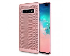 Husa Lux Hard Ultra Slim Upzz Air-up Samsung S10 Rose Gold