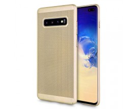 Husa Lux Hard Ultra Slim Upzz Air-up Samsung S10 Plus Gold