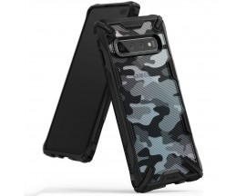 Husa Premium Ringke Fushion X Samsung S10 Plus Camo Black