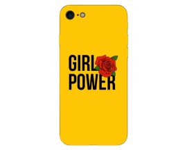 Husa Silicon Soft Upzz Print iPhone 7/iPhone 8 Model Flame Girl Power