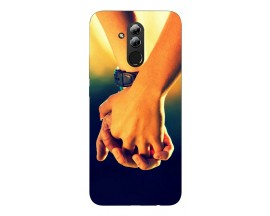 Husa Silicon Soft Upzz Print Huawei Mate 20 Lite Model Together