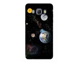 Husa Silicon Soft Upzz Print Samsung J5 2016 Model Earth