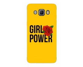 Husa Silicon Soft Upzz Print Samsung J5 2016 Model Girl Power