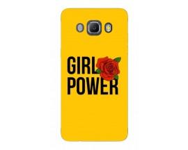 Husa Silicon Soft Upzz Print Samsung J5 2016 Model Girl Power