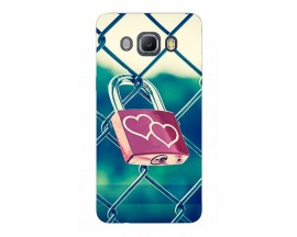 Husa Silicon Soft Upzz Print Samsung J5 2016 Model Heart Lock