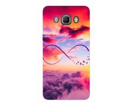 Husa Silicon Soft Upzz Print Samsung J5 2016 Model Infinity