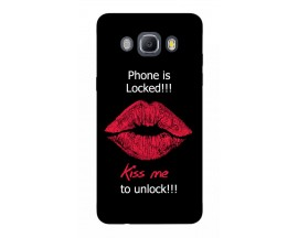 Husa Silicon Soft Upzz Print Samsung J5 2016 Model Kiss