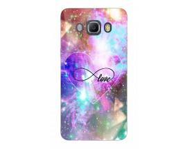 Husa Silicon Soft Upzz Print Samsung J5 2016 Model Neon Love