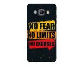 Husa Silicon Soft Upzz Print Samsung J5 2016 Model No Fear