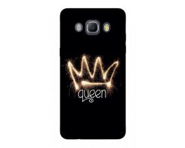 Husa Silicon Soft Upzz Print Samsung J5 2016 Model Queen