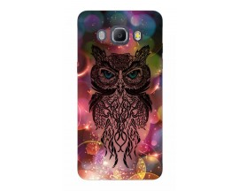 Husa Silicon Soft Upzz Print Samsung J5 2016 Model Sparkle Owl