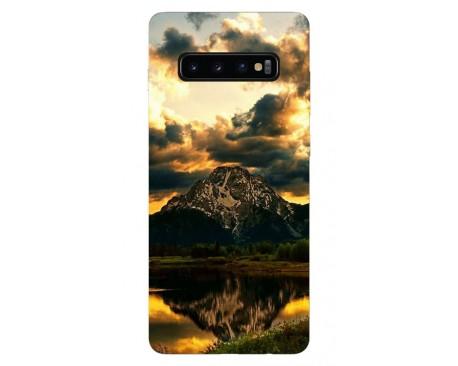 Husa Silicon Soft Upzz Print Samsung Galaxy S10 Model Apus
