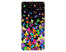 Husa Silicon Soft Upzz Print Samsung Galaxy S10 Model Colorature