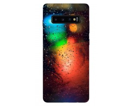 Husa Silicon Soft Upzz Print Samsung Galaxy S10 Model Multicolor