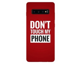 Husa Silicon Soft Upzz Print Samsung Galaxy S10 Model My Phone