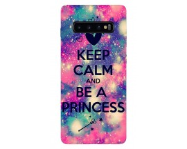 Husa Silicon Soft Upzz Print Samsung Galaxy S10 Plus Model Be Princess
